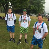 Keirans Legacy Fundraising Educating, Defibrillators, Saving Lives Charity in Moray Kiltwalk